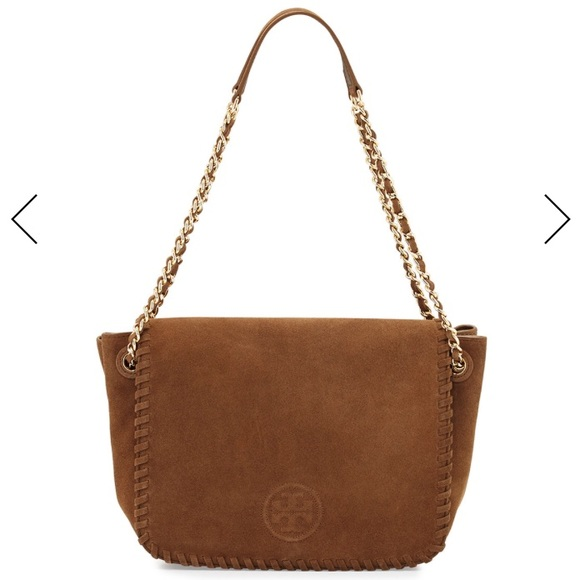 848e791aa079 Tory Burch - Marion Suede Flap Shoulder Bag. M 5b0c88f050687cec9503e053.  Other Bags you may like